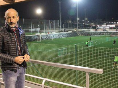 Aitor Elizegi, el nuevo presidente del Athletic, en Lezama.