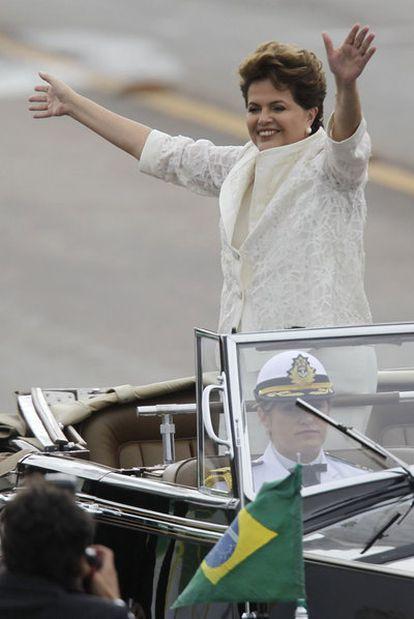 Dilma Rousseff el 1 de enero de 2011.