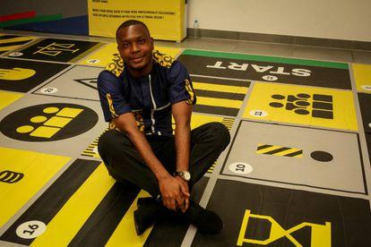 Dzikunu Richard Mawutor, ganador del Premio Acción para los Objetivos de Desarrollo Sostenible en la categoría de inclusión.
