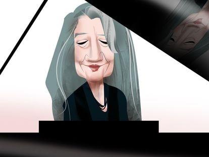 Martha Argerich, por Luis Grañena.