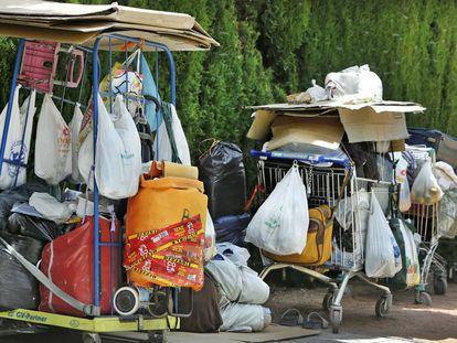 Las personas sin hogar, que viven en la calle, son otro de los colectivos atendidos por Cáritas Diocesana.