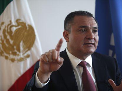 Genaro García Luna, durante una entrevista en México, en 2009.