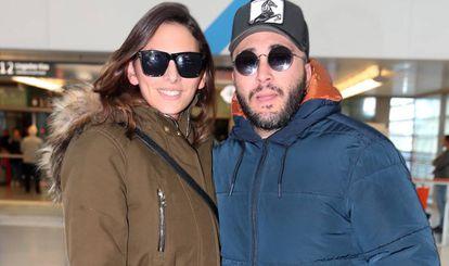 Francisco Rivera Pantoja e Irene Rosales en Madrid, antes de entrar en el concurso.