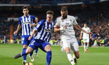El Real Madrid se enfrenta al Alavés en la jornada de LaLiga