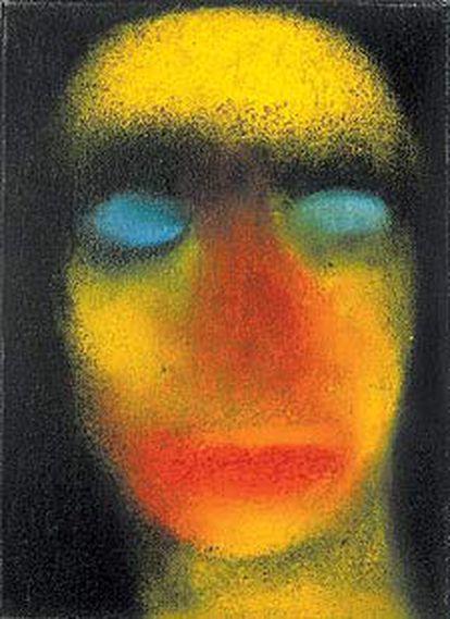 'Sin título' (1995), óleo de la artista suiza Miriam Cahn, quien retrata el mundo de la guerra, del silencio, del cuerpo como sujeto de violencia, con   colores que recuerdan el estallido de una bomba. Ella está presente en Arco y, con una exposición individual, en la Fundación la Caixa de Madrid.
