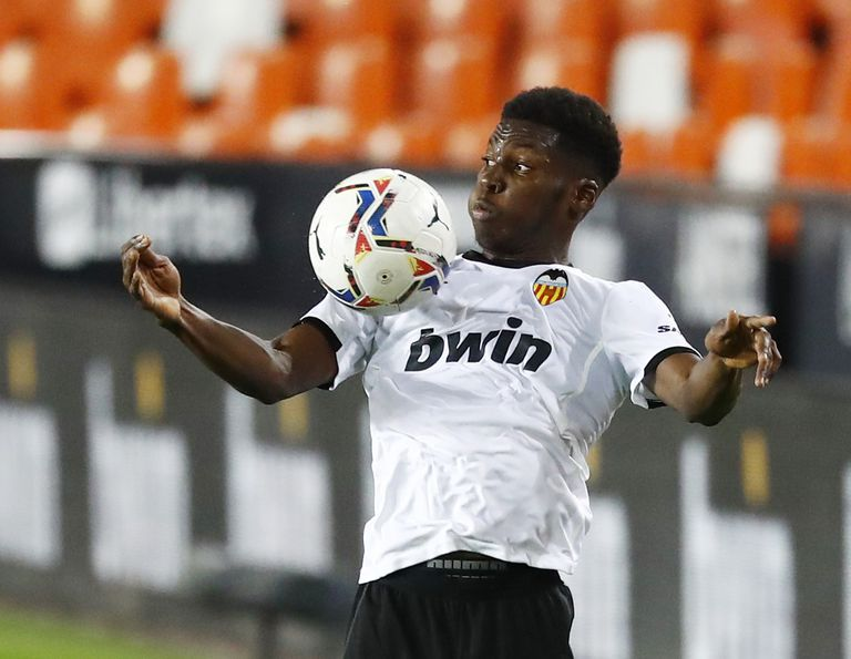 Yunus Musah, ante el Real Madrid la pasada jornada