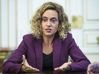 La socialista Meritxel Batet, ministra de Política Territorial y Función Pública.