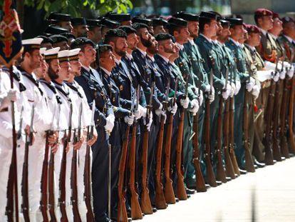 Desfile de las Fuerzas Armadas.