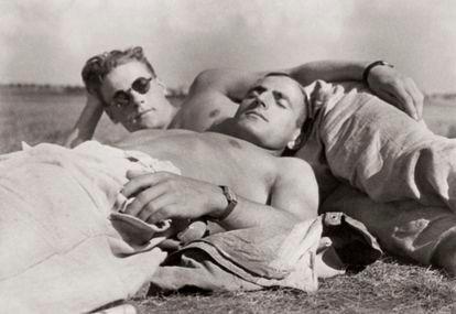 Una pareja, en una imagen sin datar de 'Loving. Una historia fotográfica'.
