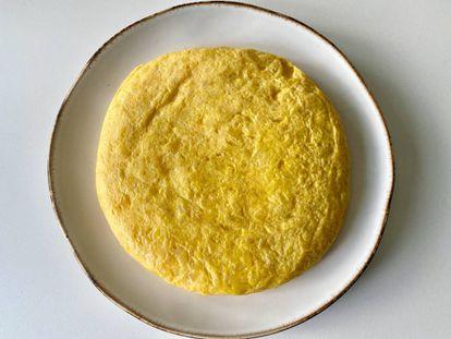 Tortilla de Taberna Pedraza.