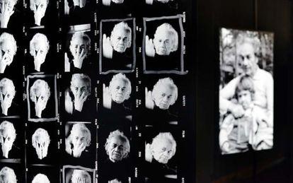Imágenes íntimas de Nicanor Parra en la exposición 'Parra 100'.
