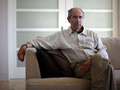 El escritor Philip Roth, en Nueva York en 2010.