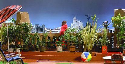 Ático de Pepa, Carmen Maura, en 'Mujeres...' y cuya vista se puede ver desde la azotea del Hotel The Principal.