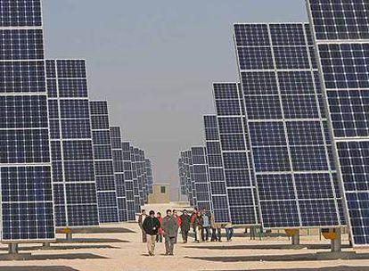 Planta solar fotovoltaica en Cintruénigo, Navarra.
