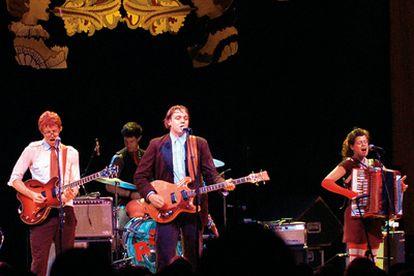 Componentes del grupo canadiense Arcade Fire