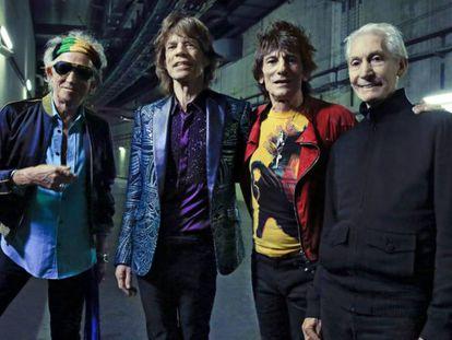 Los Rolling Stones en una imagen promocional.