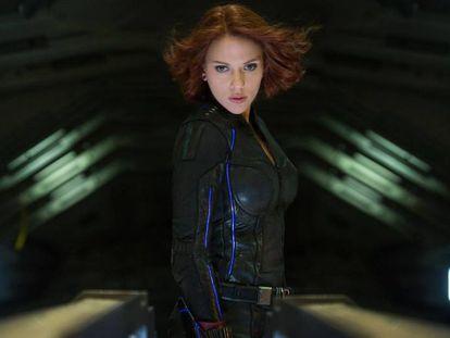 Scarlet Johansson, en 'Los vengadores'.