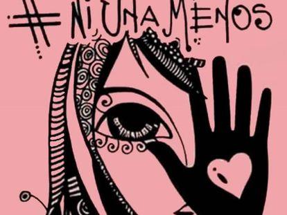 La imágen creada por la artista cordobesa para la fecha.