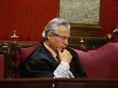 Baltasar Garzón, en el banquillo por las escuchas de Gürtel.