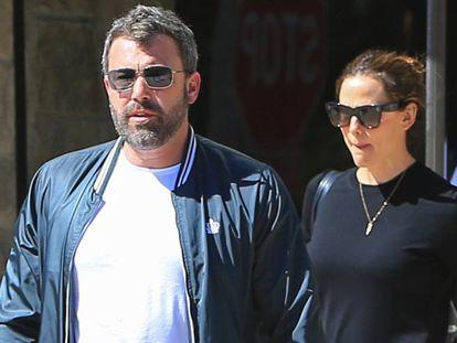 Jennifer Garner y Ben Affleck el pasado 30 de septiembre, en Los Ángeles, California.