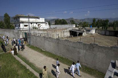 El escondite de Bin Laden en Abbottabad.