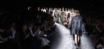 Desfile de la colección primavera/verano de 2016 de Valentino