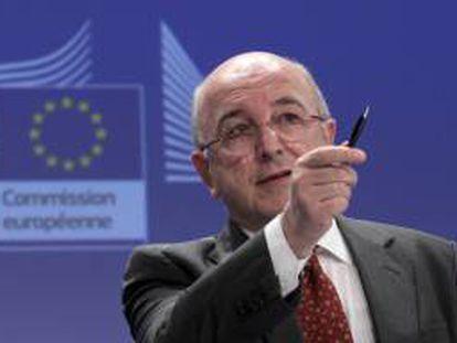 El Comisario de la Competencia, el español Joaquin Almunia. EFE/Archivo