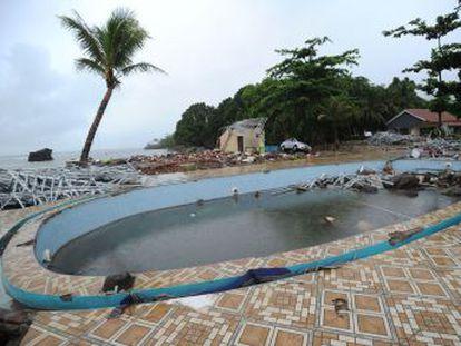 El oleaje cogió desprevenidos a miles de personas que siguen temiendo otro posible maremoto