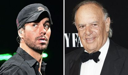 Enrique Iglesias y Carlos Falcó.