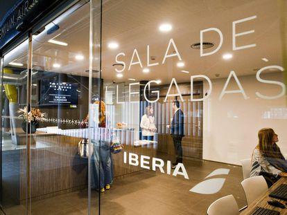 Sala VIP de Iberia.