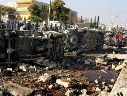 Explosión en una de las escuelas de Ingenieros de la Universidad de Alepo