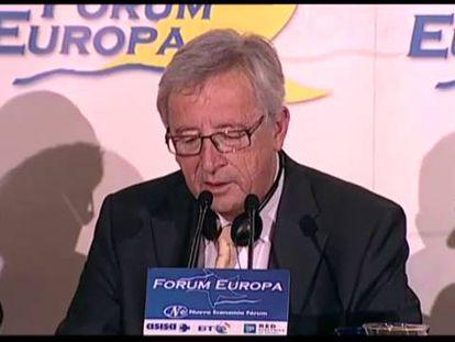 Juncker valida la postura de Rajoy sobre Cataluña y pone en jaque a CiU