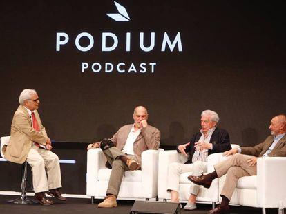 Presentación de Podium Podcast.