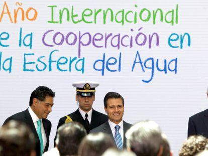 Enrique Peña Nieto, el viernes pasado en un acto.