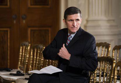 El exasesor de Seguridad Nacional de la Casa Blanca, Michael Flynn.