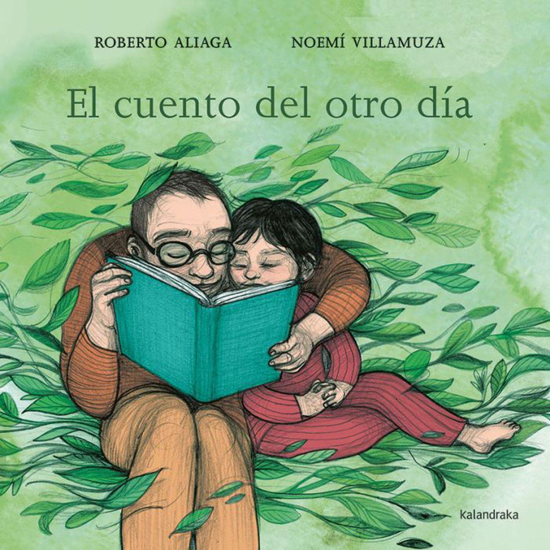 Portada del 'El cuento del otro día' de  Roberto Aliaga y Noemí Villamuza