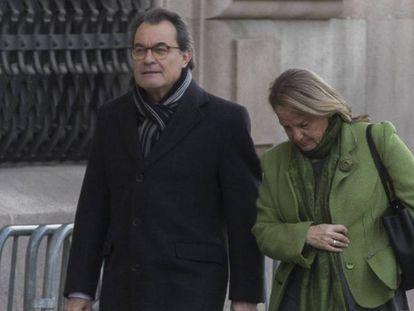 Segunda jornada del juicio a Artur Mas por la consulta del 9-N.