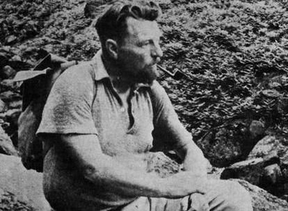 El poeta y novelista británico Malcolm Lowry (1909-1957).