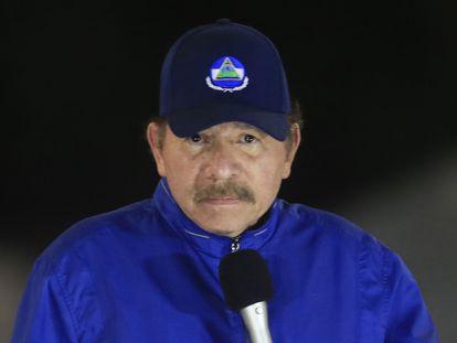 El presidente de Nicaragua, Daniel Ortega, el pasado marzo, en Managua.
