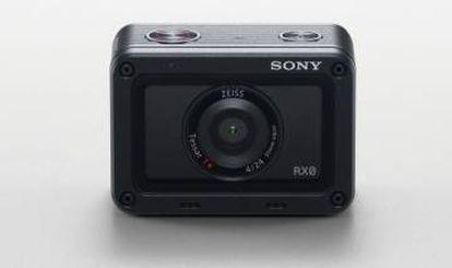 Cámara de acción RX0 de Sony.
