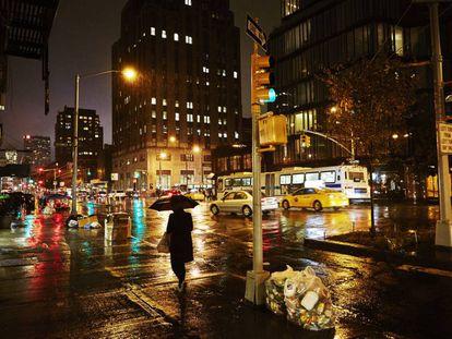Noche en Nueva York.