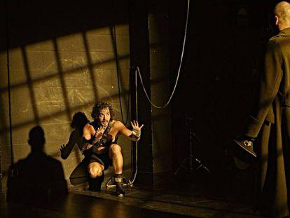 Imagen de archivo de una representación de 'La vida es sueño', de Calderón de la Barca, el pasado julio.