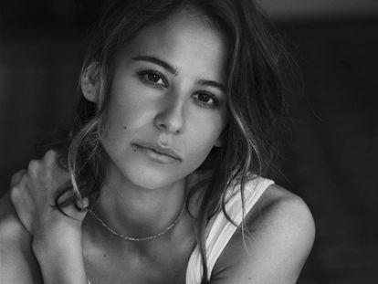 La actriz Irene Escolar, fotografiada en su casa.