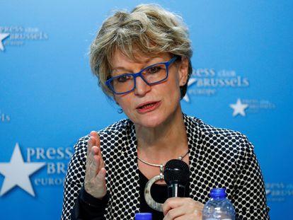 La relatora especial de la ONU para las ejecuciones extrajudiciales, Agnès Callamard, en una foto de archivo.