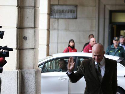 El expresidente andaluz, Manuel Chaves, el día en que se conoció la condena por el 'caso de los ERE'.