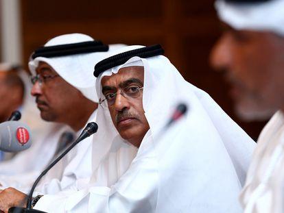 Ahmad al Kamali, presidente de la federación de Emiratos Árabes Unidos, en 2016.