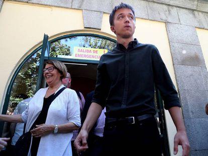 Íñigo Errejón en un acto de la UGT celebrado a finales de septiembre, en Madrid.