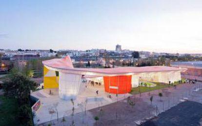 Diseño del estudio Selgascano para la Factoría joven en Mérida.  
