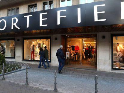 Tienda de la cadena Cortefiel en Madrid.