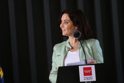 Isabel Díaz Ayuso, en una imagen del 24 de junio.
